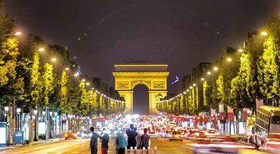 Photo of Plaza Rond-point des Champs-Élysées – Marcel Dassault at Avenue Des Champs-élysées, Paris 75008, France