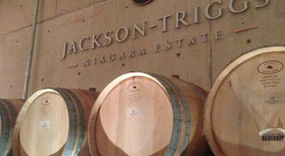 Photo of Tourist Attraction Jackson-Triggs Winery at 2145 Regional Road 55, Niagara-on-the-Lake L0S 1J0, Canada