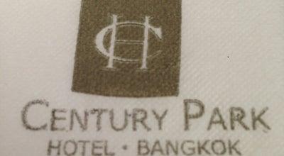 Photo of Hotel Century Park Hotel at 9 ถนนราชปรารภ, Bangkok 10400, Thailand