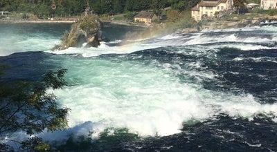 Photo of River Rhine Falls at Zurich, Switzerland