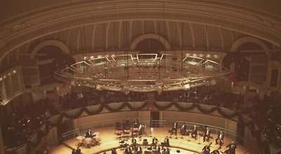 Photo of Other Venue Chicago Symphony Orchestra at 67 E Adams St, Chicago, IL 60604, United States