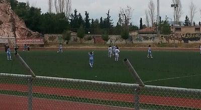 Photo of Soccer Field Δημοτικό Στάδιο Υμηττού at Ταταούλων, Ymittos, Greece