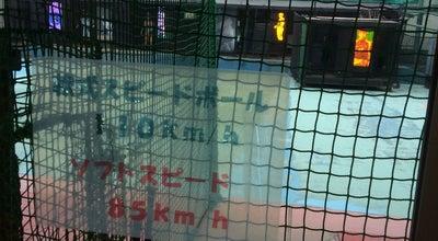 Photo of Baseball Field 池田バッティングセンター at 城南3丁目3−12, 池田市 563-0025, Japan