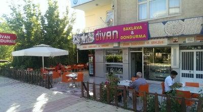 Photo of Ice Cream Shop Divan Pastanesi at Cumhuriyet Mah. Malatya Cad.  (i̇ş Bankası Karşısı), elaziğ 23040, Turkey