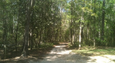 Photo of Trail Lake Overstreet Multi Use Trails Meridian Entrance at Tallahassee, FL 32312, United States