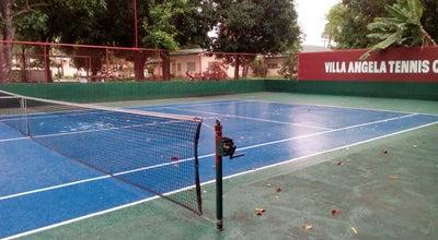 Photo of Tennis Court Villa Angela Tennis Court at Villa Angela, Angeles City 2009, Philippines