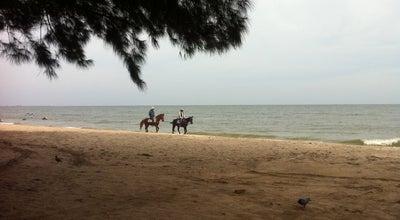 Photo of Beach ชายหาดชะอำ (Cha-am Beach) at Cha-am 76120, Thailand