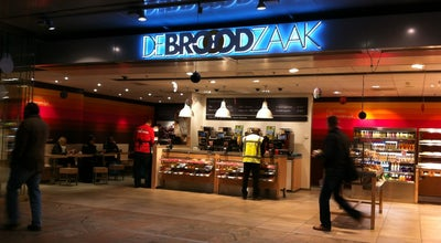 Photo of Restaurant De Broodzaak at Stationsplein 20, Rotterdam 3013 AJ, Netherlands
