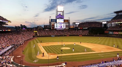 Photo of Baseball Field Coors Field Club Level at 2001 Blake St, Denver, CO 80205, United States