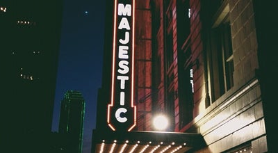 Photo of Theater Majestic Theatre at 1925 Elm St, Dallas, TX 75201, United States
