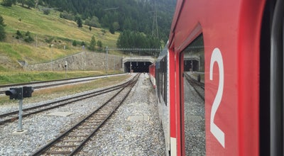 Photo of General Travel Furka Basistunnel at Oberwald-Realp, Switzerland
