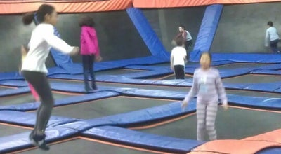 Photo of Tourist Attraction Sky Zone Indoor Trampoline Park at 3636 Hawkestone Rd, Mississauga L5C-2V2, Canada