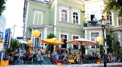Photo of Modern European Restaurant Manna La Roosa at Vana-viru 15, Tallinn 10148, Estonia