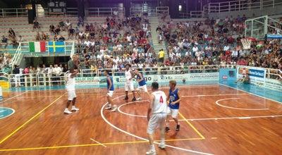 Photo of Basketball Court Palazzetto dello Sport at Viale Dei Partigiani, Pesaro 61121, Italy
