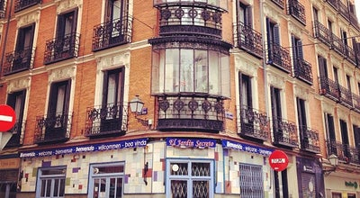 Photo of Mediterranean Restaurant El jardin secreto at Calle Conde Duque 2, Madrid 28015, Spain