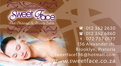 Photo of Spa Sweet Face Thai Massage at 156 Alexander Street, Pretoria 0181, South Africa