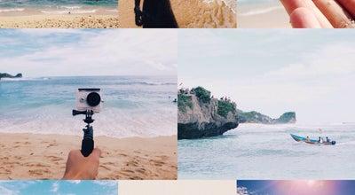 Photo of Beach Pantai Ngandong at Gunung Kidul, Indonesia