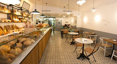 Photo of Restaurant Miga Bakery at Calle Julian Romea 8, Madrid 28003, Spain