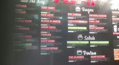 Photo of Sandwich Place ASAP City at Canada