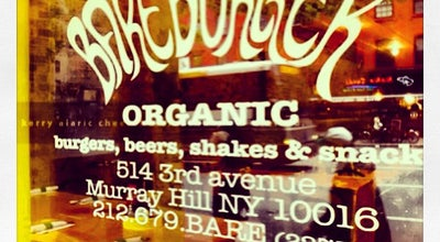 Photo of Burger Joint Bareburger at 514 3rd Ave, New York, NY 10016, United States