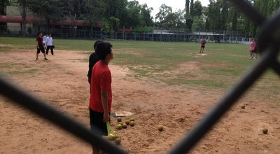 Photo of Baseball Field สนาม Baseball สาธิต(ศศ.) at Satit Baseball, Mueang Khon Kaen, Thailand
