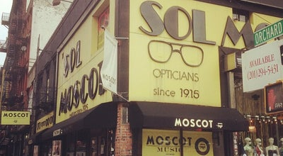Photo of Optical Shop Sol Moscot Optical at 118 Orchard St, New York, NY 10002, United States