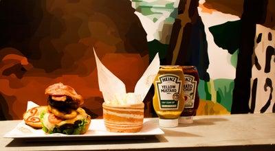 Photo of Burger Joint La Placita Burger Bar at Bocagrande, Calle 8 # 2-50, Cartagena de Indias, Colombia