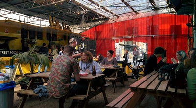 Photo of Food Court Shoreditch Food Village at 187 Shoreditch High St, Shoreditch E1 6HU, United Kingdom
