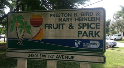 Photo of Park Fruit & Spice Park at 24801 Sw. 187th Ave., Homestead, FL 33031, United States
