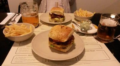Photo of American Restaurant Mozaika Burger & Co. at Nitranská 13, Prague 130 00, Czech Republic