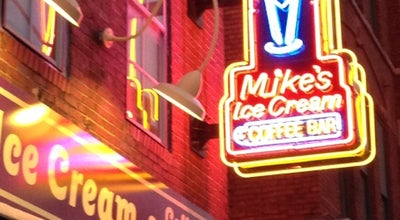 Photo of American Restaurant Mike's Ice Cream at 208 Broadway, Nashville, TN 37201, United States