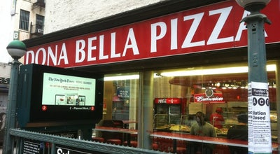 Photo of Italian Restaurant Dona Bella Pizza at 154 Church St, New York, NY 10013, United States