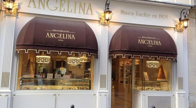 Photo of Bakery Angelina at 108 Rue Du Bac, Paris 75007, France