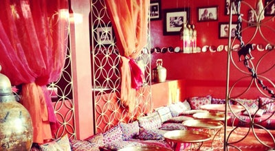 Photo of Italian Restaurant Cafe Arabe at 184, Rue Mouassine, Marrakech, Morocco
