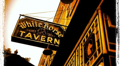 Photo of American Restaurant White Horse Tavern at 567 Hudson St, New York, NY 10014, United States