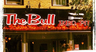 Photo of American Restaurant The Bull BBQ Pit at 24 St. Paul St, St. Catharines L2R 3M2, Canada