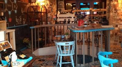Photo of Cafe Blue Bird Cafe at Goszdu Udvar Dob Utca 16, Budapest 1072, Hungary