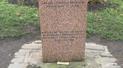 Photo of Arts and Entertainment Greyfriars Bobby Grave at United Kingdom