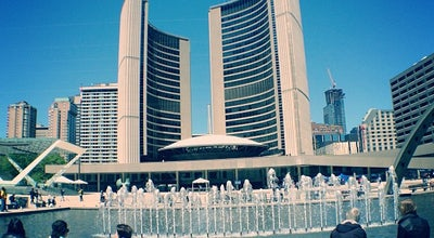 Photo of Plaza Nathan Phillips Square at 100 Queen St W, Toronto, ON M5H 2N1, Canada