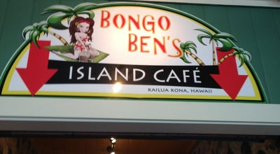 Photo of American Restaurant Bongo Ben's Island Cafe at 75-5819 Alii Dr, Kailua-Kona, HI 96740, United States
