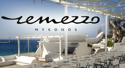 Photo of Mediterranean Restaurant Remezzo Restaurant and Bar at Harbour, Mykonos Town, Greece