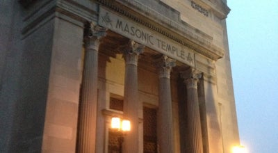 Photo of Arcade Masonic temple at 1524 W Linden St, Allentown, PA 18102, United States