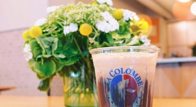 Photo of Coffee Shop La Colombe Torrefaction at 75 Vandam St, New York City, NY 10013, United States