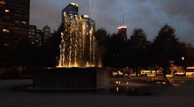 Photo of Plaza Gateway Park at 600 E Grand Ave, Chicago, IL 60611, United States