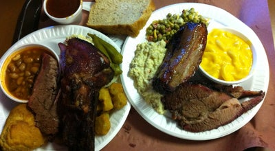 Photo of American Restaurant Chisholm Trail Barbq at 1323 S Colorado St, Lockhart, TX 78644, United States