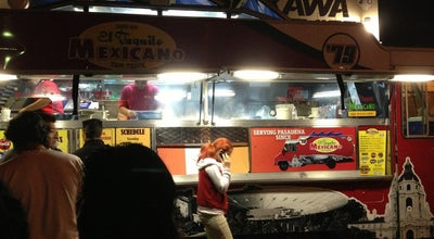 Photo of Mexican Restaurant El Taquito Mexicano Truck at 510 S Fair Oaks Ave, Pasadena, CA 91105, United States