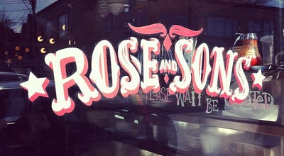 Photo of American Restaurant Rose & Sons at 176 Dupont Street, Toronto, ON M5R 2E6, Canada