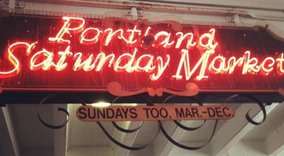 Photo of Tourist Attraction Portland Saturday Market at 108 W Burnside, Portland, OR 97209, United States