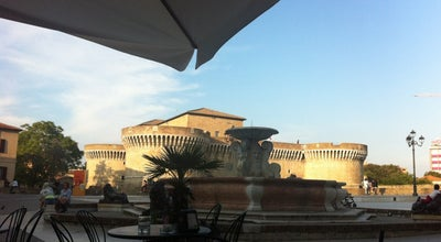 Photo of Restaurant Cafe Bicchia at Piazza Del Duca 12, Senigallia 60019, Italy