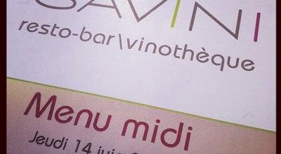 Photo of Italian Restaurant Savini Resto-Bar Vinotheque at 680 Rue Grande-allee Est, Quebec City, QC G1R 2K5, Canada